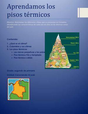 Calam o pisos t rmicos de colombia for Pisos en el vendrell