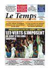 Le Temps d'Algérie Edition du Jeudi 11 Septembre 2014