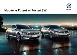 calam o catalogue de la nouvelle passat volkswagen. Black Bedroom Furniture Sets. Home Design Ideas