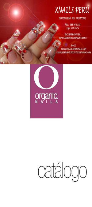 Contact US >> Calaméo - Catalogo Organic Nails