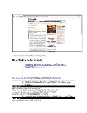 En Google Con Raul Gonzalez Tuñon Los Del Taller