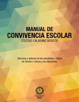 Calam o manual de convivencia colegio calasanz bogot for Funcion de un vivero escolar
