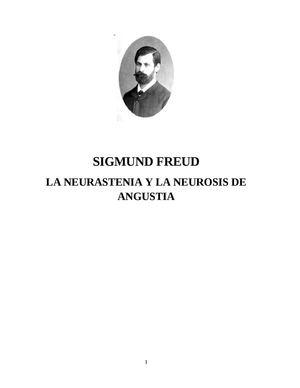 16_SIGMUND FREUD La Neurasteni Y La Neurosis De Angustia 1895