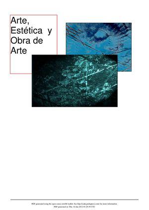 Terms Of Use >> Calaméo - Arte, Estética y Obra de Arte
