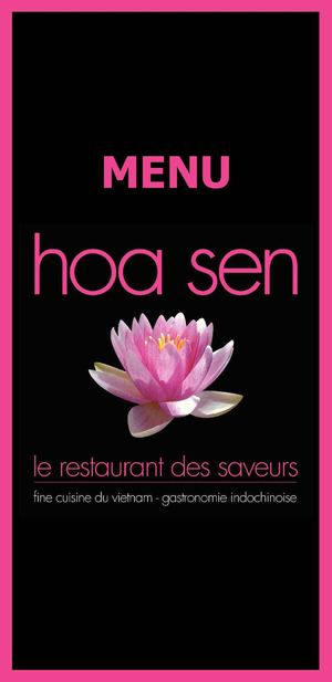 Contact US >> Calaméo - menu restaurant Hoa Sen Dinant