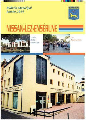 calam o bulletin municipal 2014 nissan lez ens rune. Black Bedroom Furniture Sets. Home Design Ideas