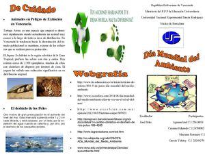 Calam 233 O Educacion Ambiental Triptico Tarea 2 Pdf