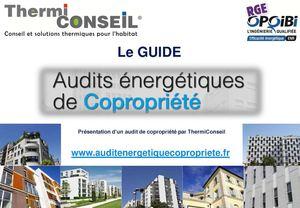 Présentation d'un Audit énergétique de Copropriété réalisé par ThermiConseil